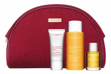 Receive a complimentary Clarins gift