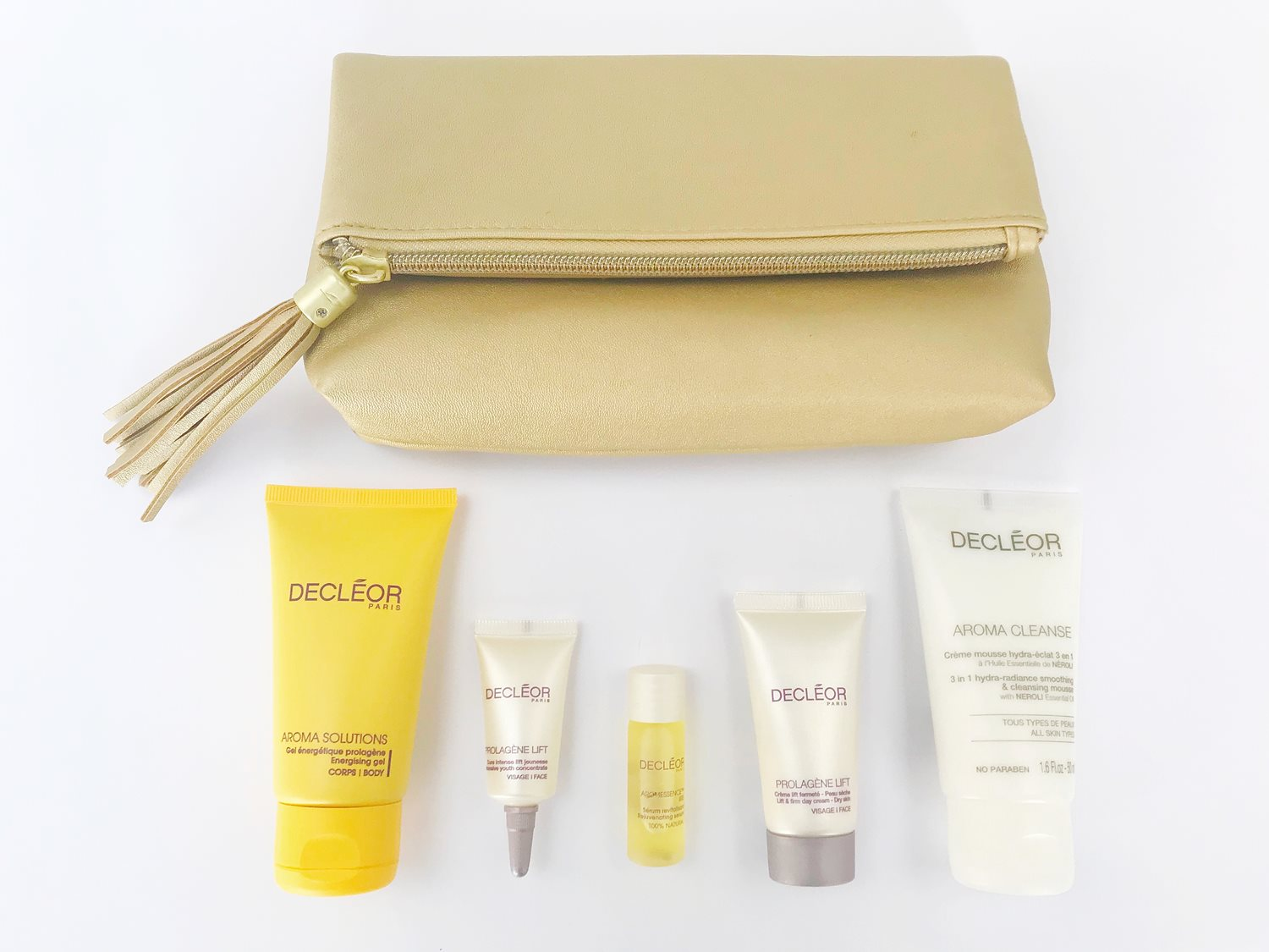 Receive a fabulous free gift for our December treatments of the month. This one comes with the Decleor massage