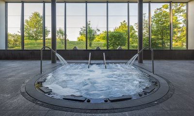 Enjoy some time in the spa to de-stress and unwind