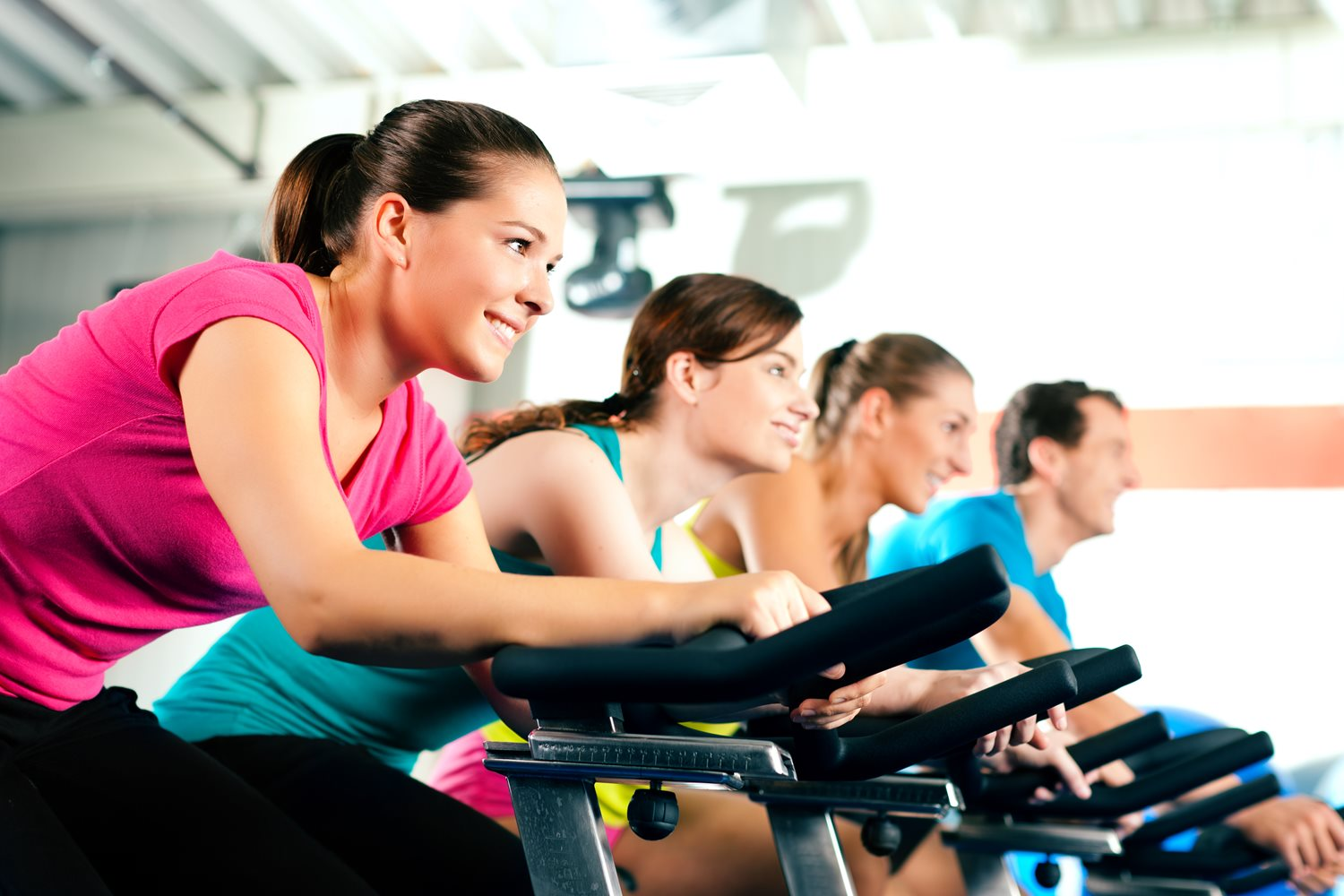 Our Fitness Studio is equipped with state-of-the-art spin bikes